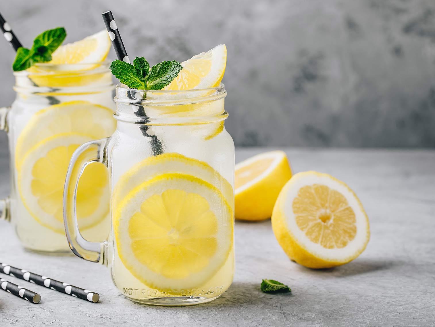 Recette Jus de citron détox   Potager City