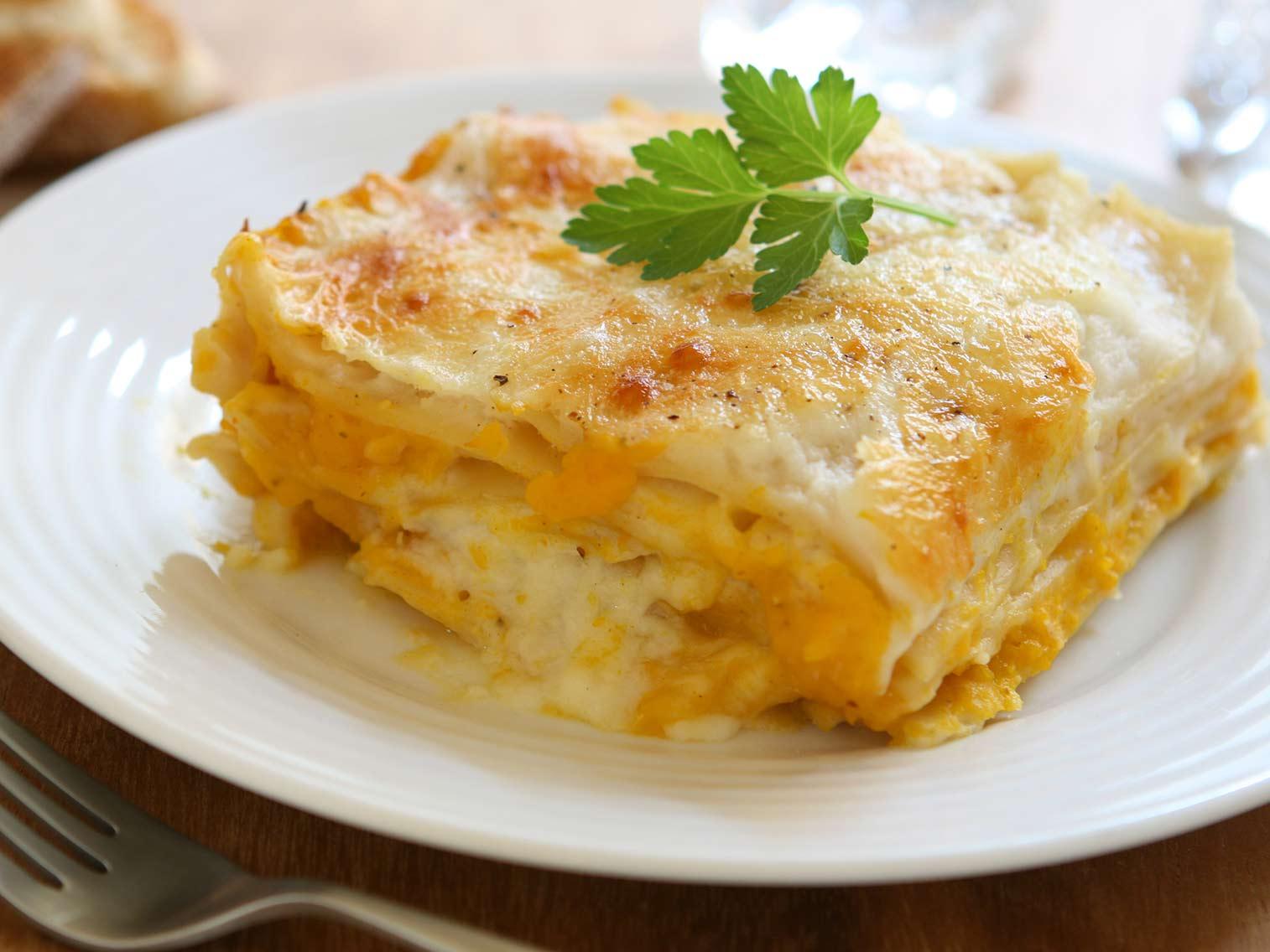 Recette Lasagnes A La Courge Butternut Potager City